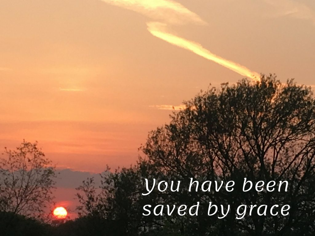 God, rich in mercy, the great love with which he loved us, dead in our trespasses, alive together with Christ, by grace you have been saved